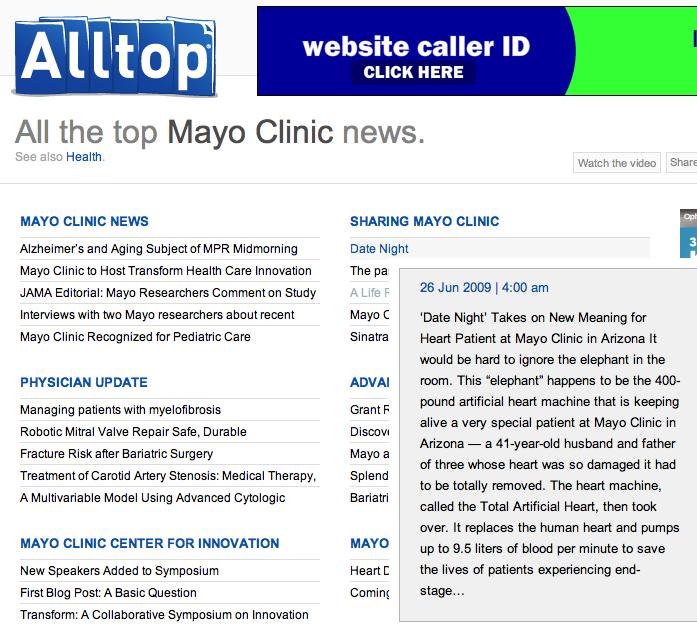 MayoClinicAlltop