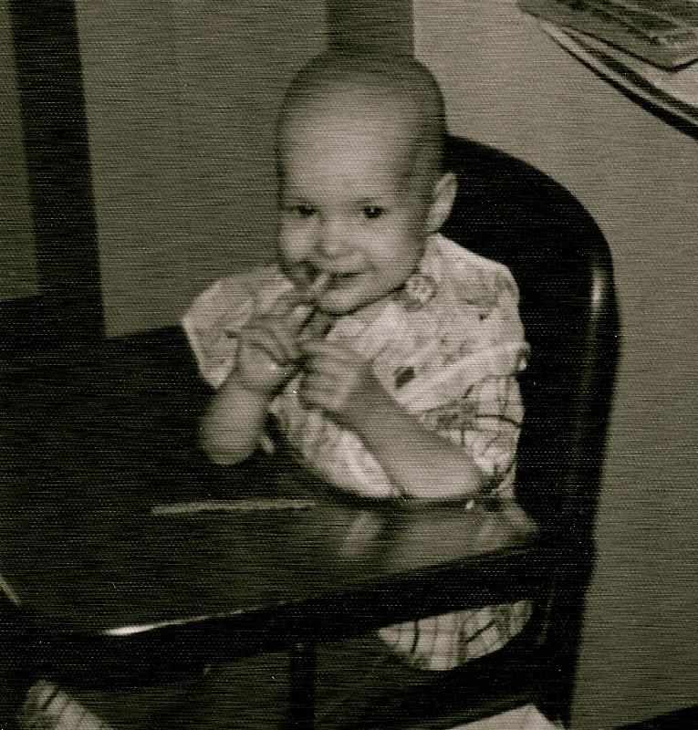 Michelle Ernsdorff as a child