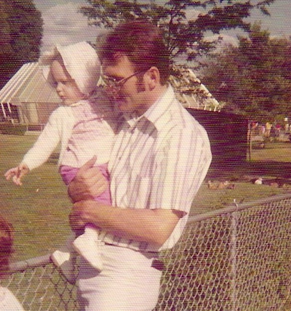 Michelle and her father, Mike