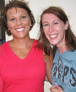 Lauren Taylor and Wendy Rogers