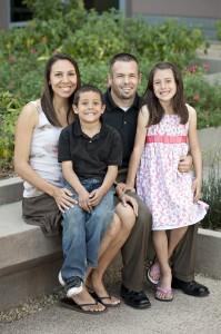 Nichole and Isaac Ruston and kids Max and Mia