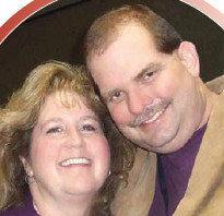Kirk Watson and his wife