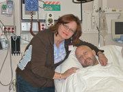 Joel Saunders and wife, Kimberly