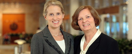 Picture of Andrea Wahner Hendrickson, M.D., and Dietlind Wahner-Roedler, M.D.