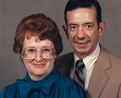Alvin Haworth and wife