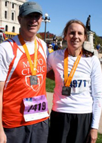 Amy Haberman and Dr. Leibovich