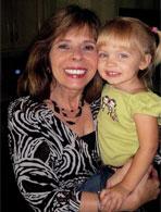 Marilyn Dobski and her granddaughter.