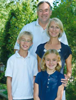 Bob Anderson and his family.