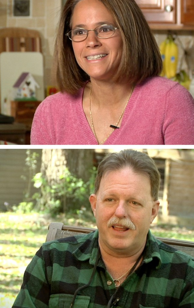 Mayo Clinic patients Sue and Darrin Willingham