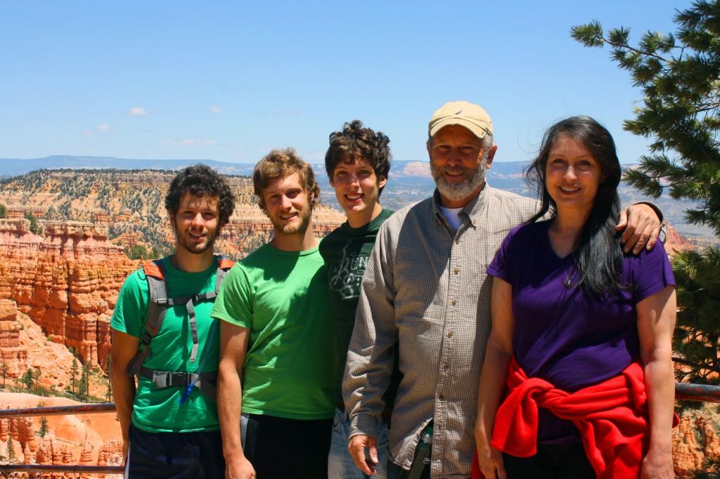 Beki Rose and family