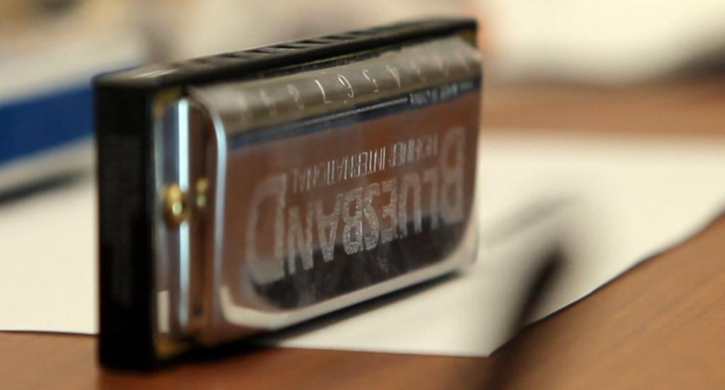a harmonica