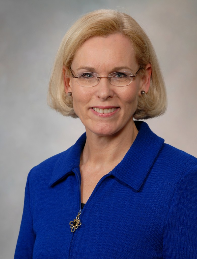 Portrait of Dr. Mary I. O'Connor, chair of the Department of Orthopedics at Mayo Clinic in Florida.