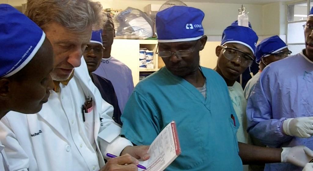 Dr. Fleischer at Tenwek Hospital
