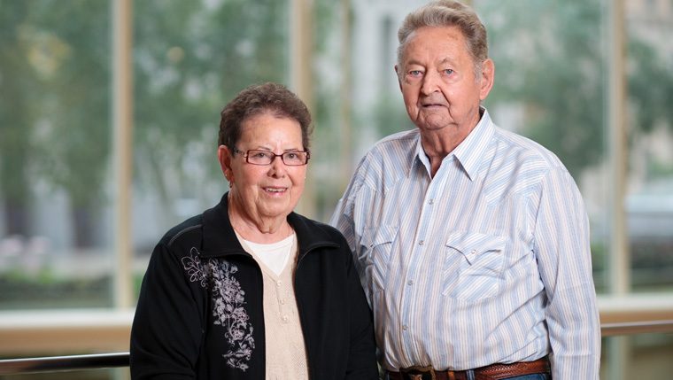 Sandy and Dick Dyson