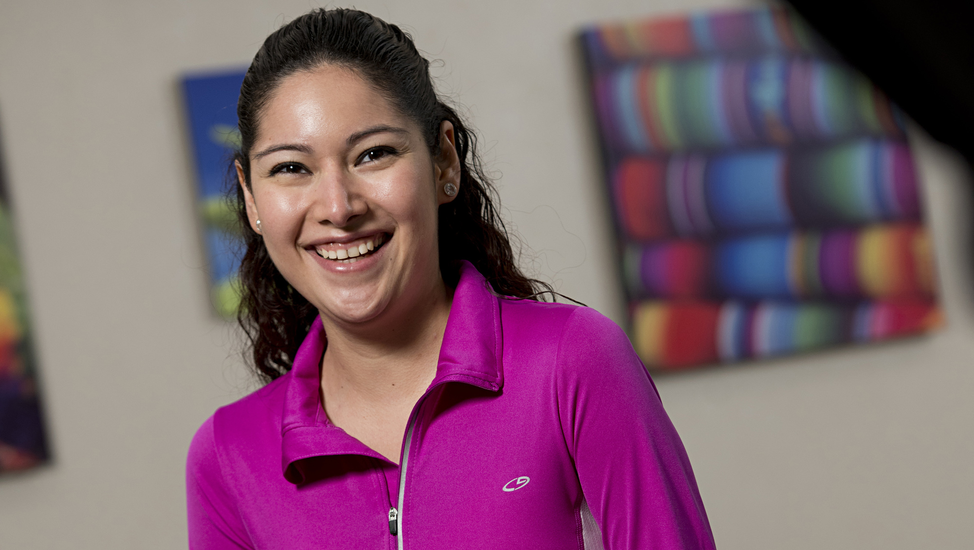 Ileana Hernandez, 27-years old, was born with two holes in her heart.