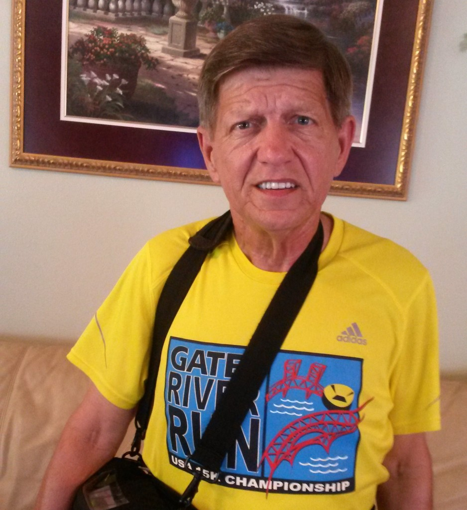 of 67 year-old Donald Glynn of Jacksonville, Fla., an avid runner who participated in countless marathons, half marathons and 5K races over the last 30 years.
