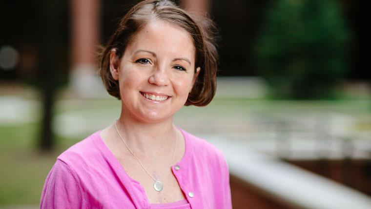 Mayo Clinic nurse and transplant patient Nicole Jahns.