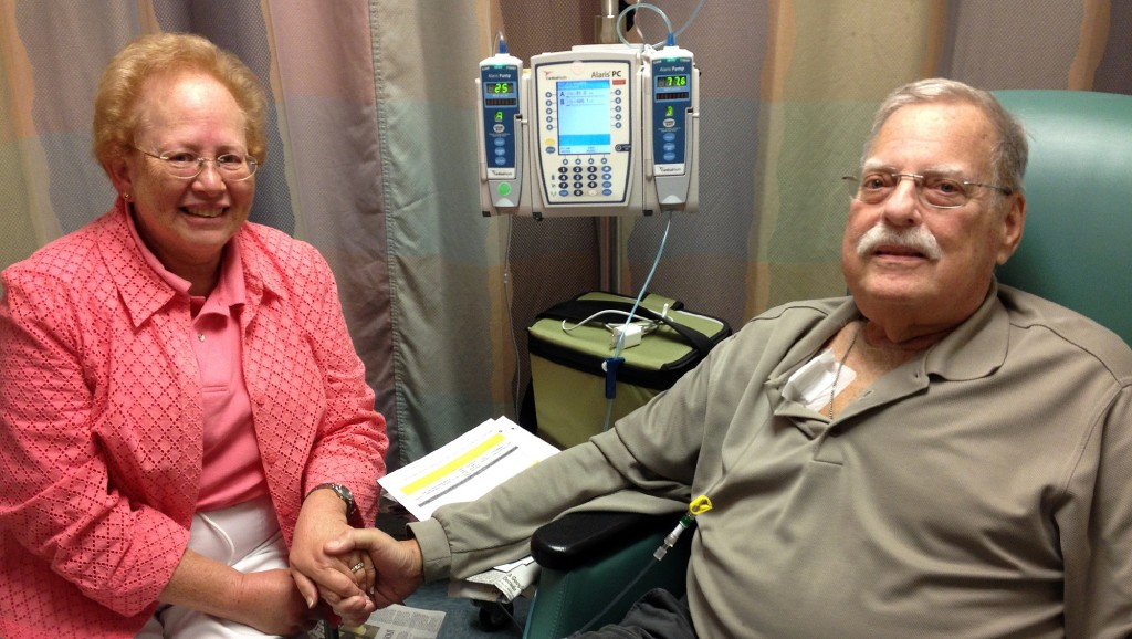 Dr. Mike Mass undergoes treatment for multiple myeloma at Mayo Clinic in Florida.