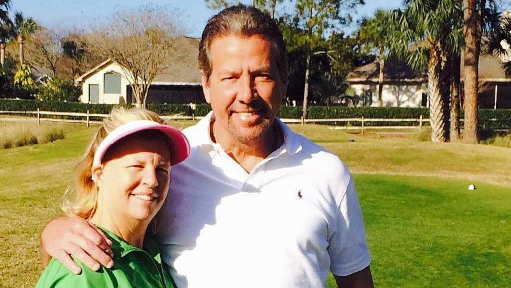 Mayo Clinic patient Donald Jones, of Ponte Vedra, Florida, with his wife.