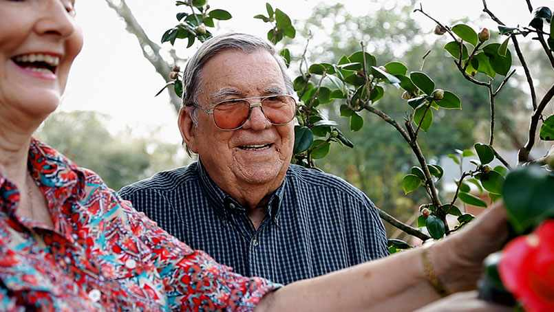 Virgil Jernigan is enjoying his retirement thanks to surgery to repair a leaky mitral valve.
