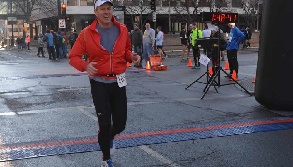Michael Koetting continues to race after donating a kidney to someone on the transplant list.