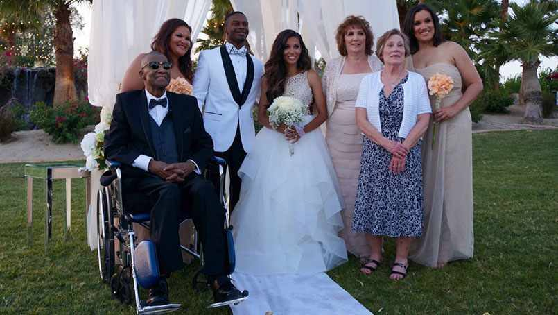 Andre Pearson traveled to his daughter's wedding with some help from Mayo Clinic.