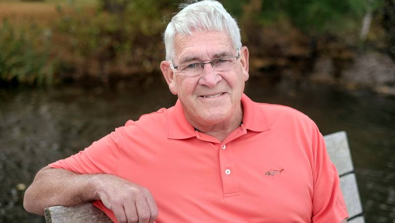 Early screening at Mayo identified lung cancer early for Bill McWhite.