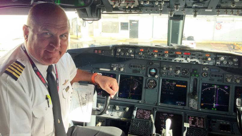 Parry Winder back in flight after pain treatment.