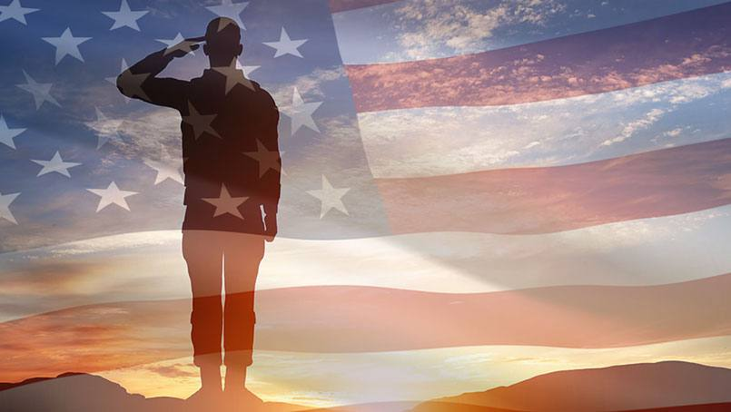 Former senior airman, R. Brady Johnson, survived a cerebral hemorrhage and stroke.
