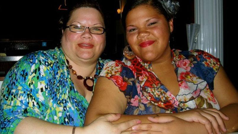 Alexandra Abreu Figueroa (right), pictured with her mother Lyana Figueroa-Soto, is inspired by the First Coast Heart Walk to improve her fitness and tackle a family struggle with weight.