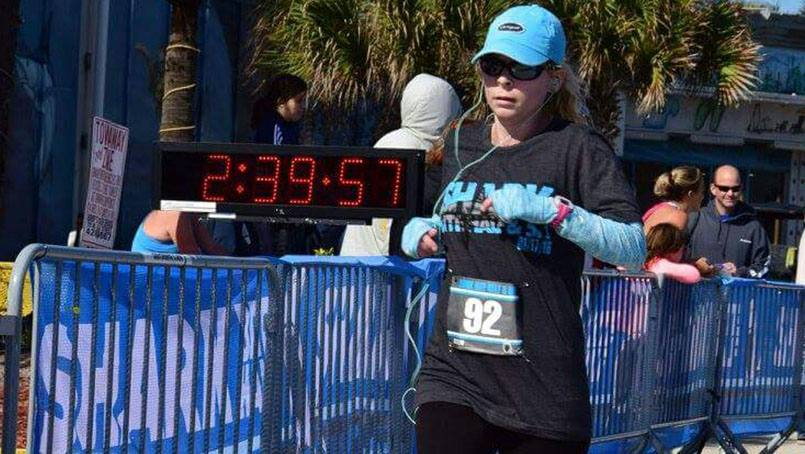 After fighting cystic fibrosis for more than a decade, Tammy Bolerjack received a life-saving double-lung transplant at Mayo Clinic. Taking full advantage of her renewed health, today she's fit and running strong.