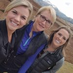 Mayo Clinic nurses Kate Hudson, Kate Welp and Kallie Howerton on the mission trip in October.