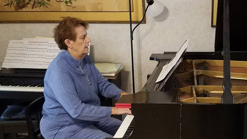 Successful treatment at Mayo Clinic's Comprehensive Stroke Center in Florida prevented Judith Johnson from suffering long-term complications from a stroke and preserved her treasured piano-playing skills.