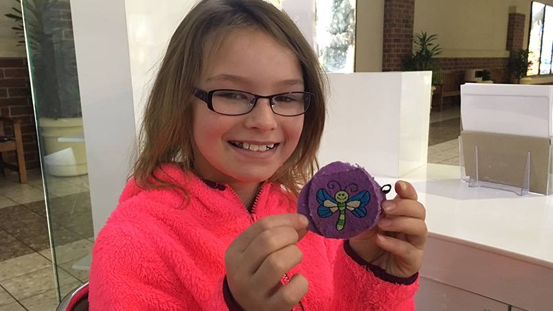 Lazy eye was making it hard for 8-year-old Saydee to see well. If left untreated, it could have caused permanent vision loss. But an accurate diagnosis and quick treatment avoided that, and now Saydee's back to seeing clearly again.