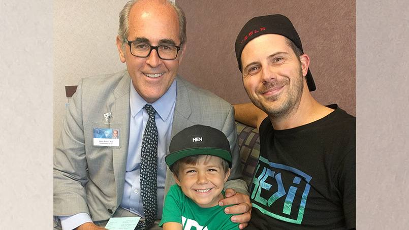 When four-year-old Maksim Messerer's kidney function declined suddenly and unexpectedly, surgical personnel from across Mayo Clinic promptly came together to perform his kidney transplant several weeks ahead of schedule.