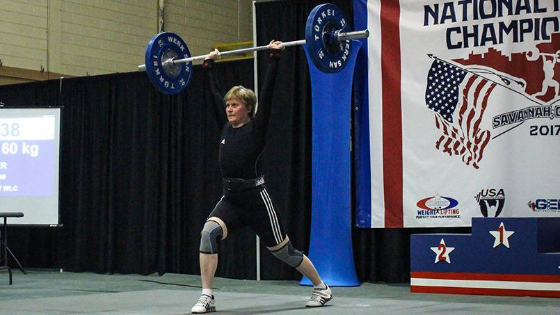 When she was diagnosed with breast cancer, Marianne Huebner feared her days of competitive weightlifting were over. Her care team at Mayo Clinic had other ideas.