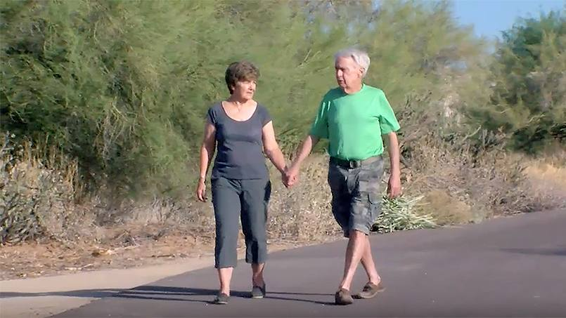 When Vincent and Sandra Streech were diagnosed with cancer, the husband and wife turned to Mayo Clinic. The pair each received treatment through clinical trials, and today the future looks more promising for both of them.