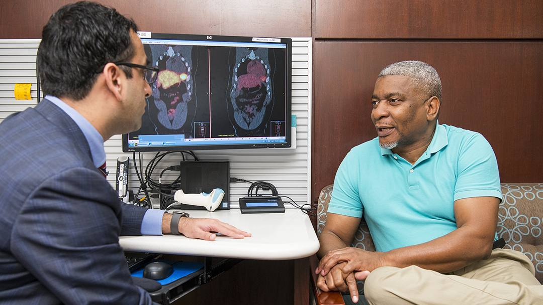 Andrew McFadden wasn't sure what to do when he found out he had a rare and aggressive form of cancer. But working together through a unique partnership, his physicians helped him develop a treatment plan and find a way to move forward.