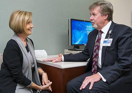 Paulette Walz and John Casler, M.D.