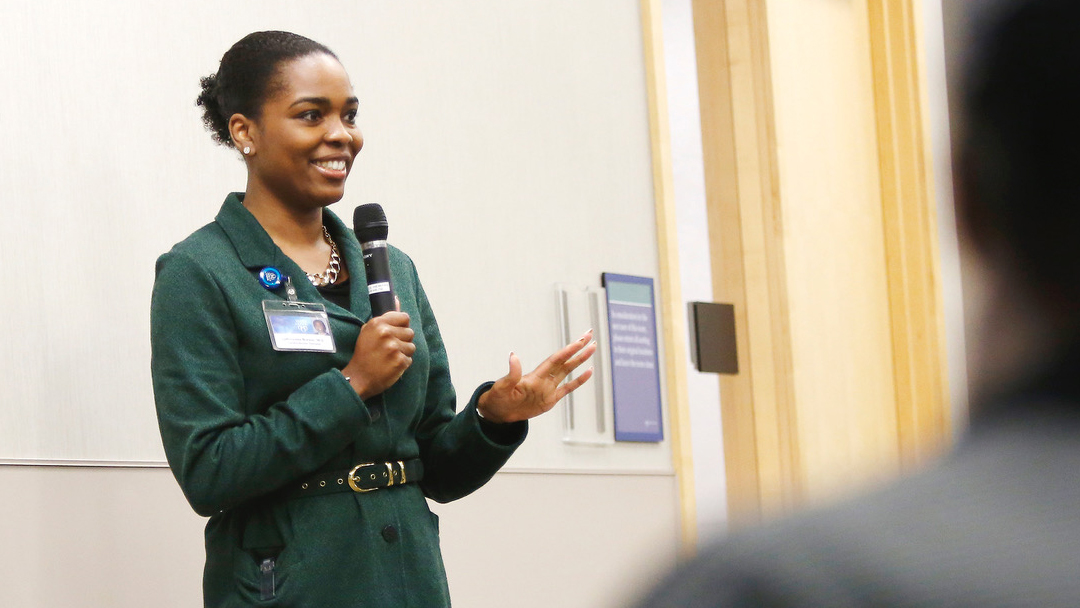 Concerned by health disparities in African-American communities, Dr. LaPrincess Brewer developed a program that partners with local churches to foster healthy lifestyle choices and improve heart health.