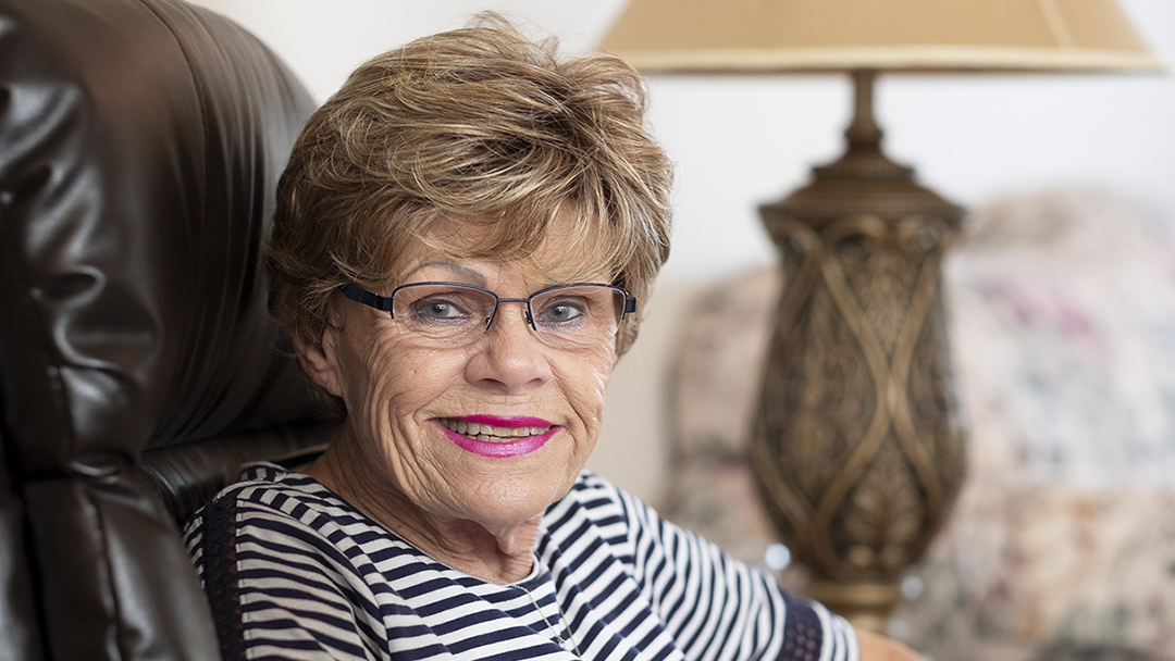Nancy Hannafin suffered from terrible pain on one side of her face for several years. Finally, a visit to her optometrist led to a breakthrough. Nerve pain was causing the problem, and brain surgery at Mayo Clinic fixed it.