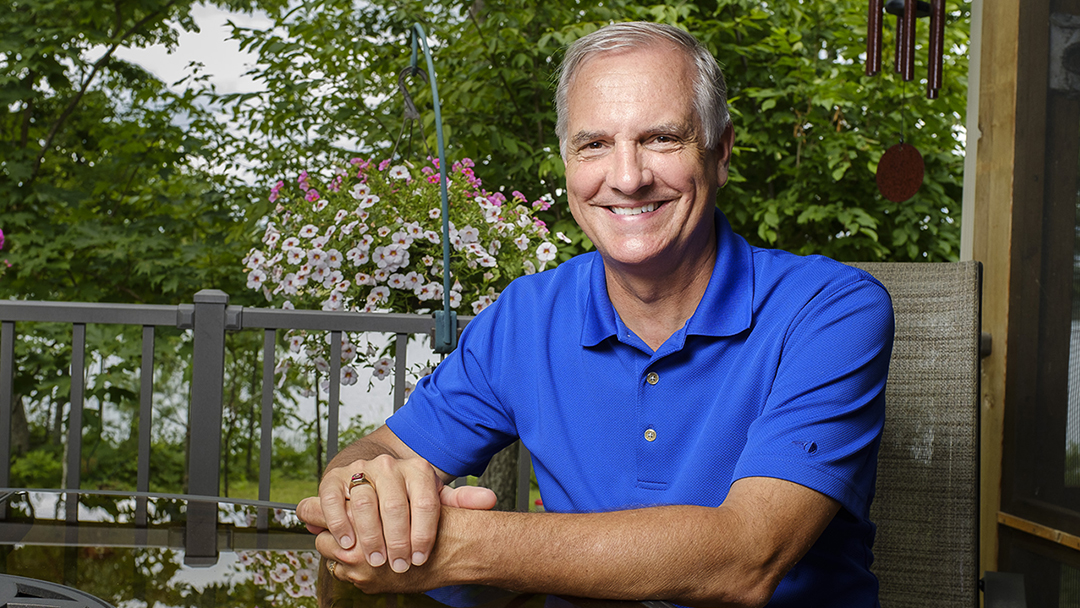 Diagnosed with stage 4 lung cancer, Kurt Jacobson has received state-of-the-art care from Mayo Clinic without needing to travel far from his home in northern Wisconsin.