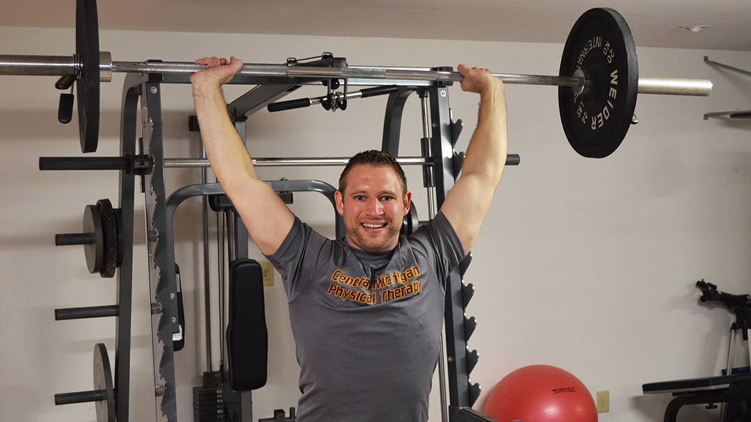 More than a decade after nerve transfer surgery restored mobility to his right shoulder, Peter Rechenberg is not only able to do Olympic lifts, he's using his experience at Mayo Clinic to bring healing to others.