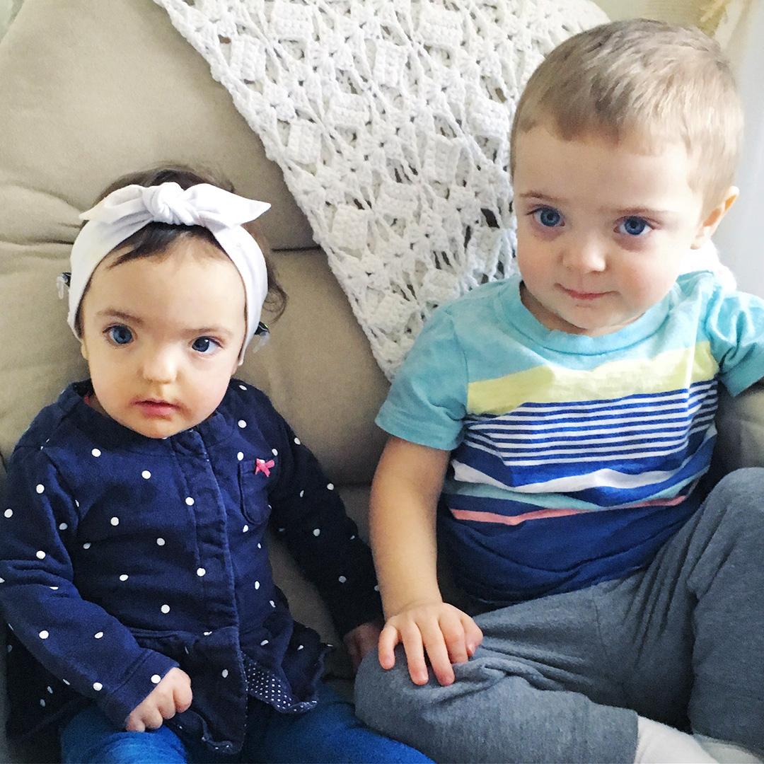 Aida and Dainen Little