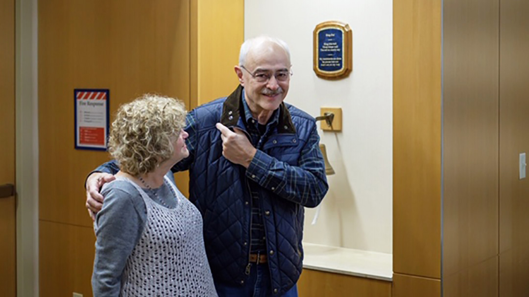 When Bruce McVety's prostate cancer returned after a seven-year remission, his doctor suggested he go to Mayo Clinic to receive a test that wasn't available locally. Bruce listened. Today, after comprehensive treatment, the cancer is undetectable, and Bruce is grateful for his renewed health.