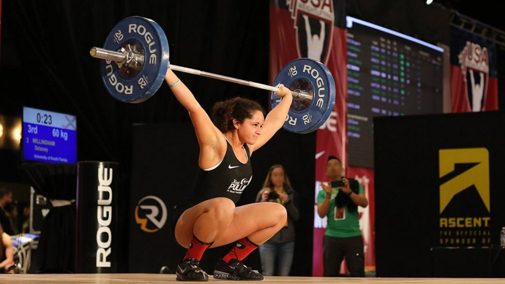 When Delaney Willingham damaged her right shoulder during a high school meet, she feared her competitive weightlifting days were over. But now, after arthroscopic shoulder surgery at Mayo Clinic, Delaney's fully recovered from her injury, and she's back to high-level competition.