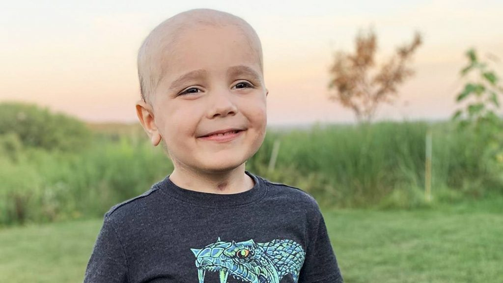 Diagnosed with non-Hodgkin's lymphoma, 4-year-old Nathan Herber's health spiraled downward when he was overcome by life-threatening treatment complications. A team of pediatric specialists at Mayo Clinic came to Nathan's aid. And in the end, they restored the boy's health while putting his cancer in remission.