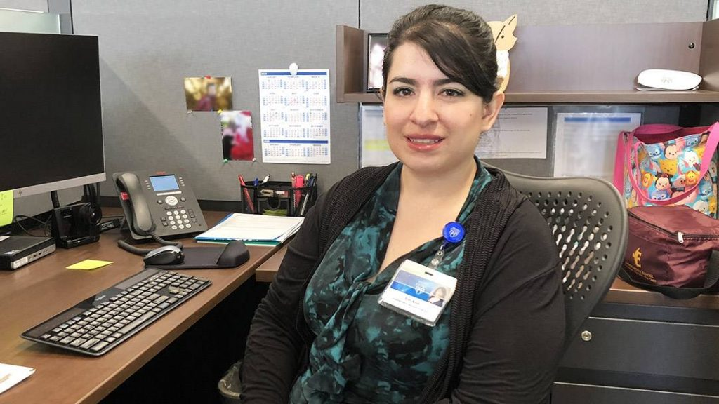 Erin Ayub spent months in a medically induced coma as her Mayo Clinic care team worked to fight off a rare and dangerous form of encephalitis. Today, Erin has made a remarkable recovery, and now as a Mayo staff member, she's eagerly working to help further the mission of the health care organization that saved her life.