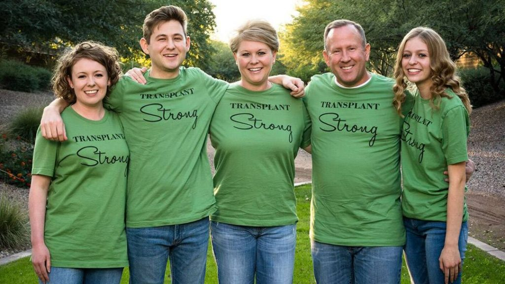 When Kendon Holdaway found out he would need a kidney transplant, his close-knit family rallied around him. With his mother as his living donor, and his father and siblings stepping up to be caregivers, the transplant turned into a bonding experience that drew the family even closer.